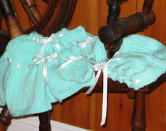 Hand Knitted Baby Clothes at Hideaway Campground Gift Shop