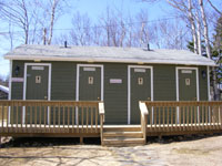 The Main washroom / Laundry room are centrally located.